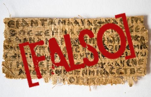 falsificação