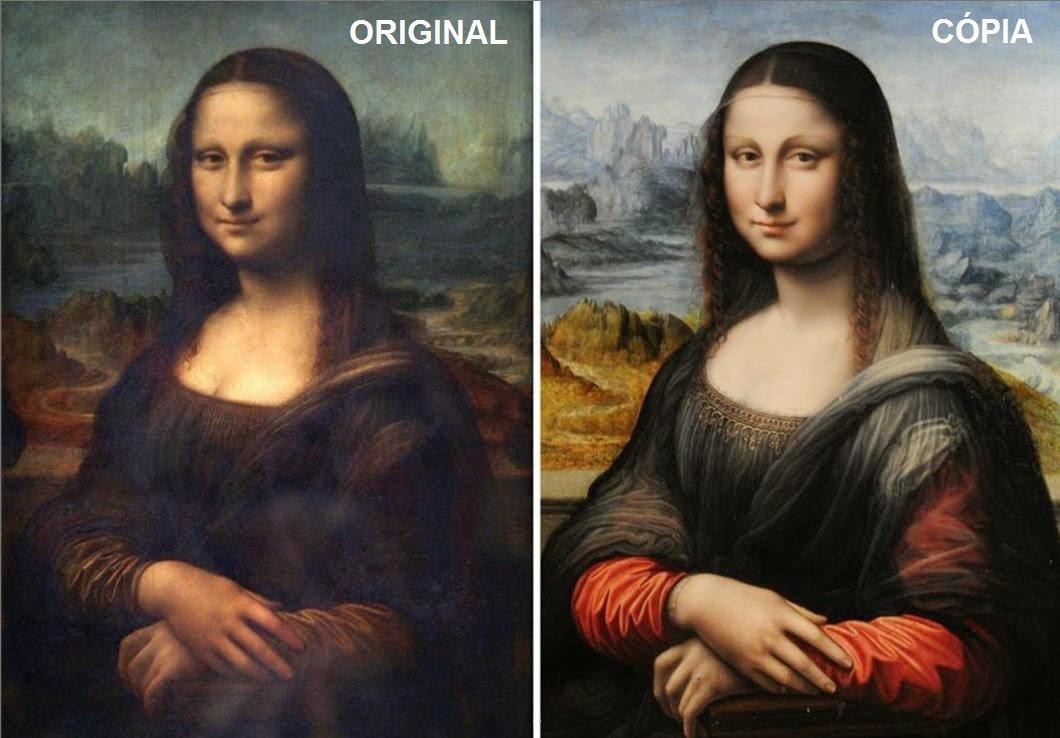 reprodução e original