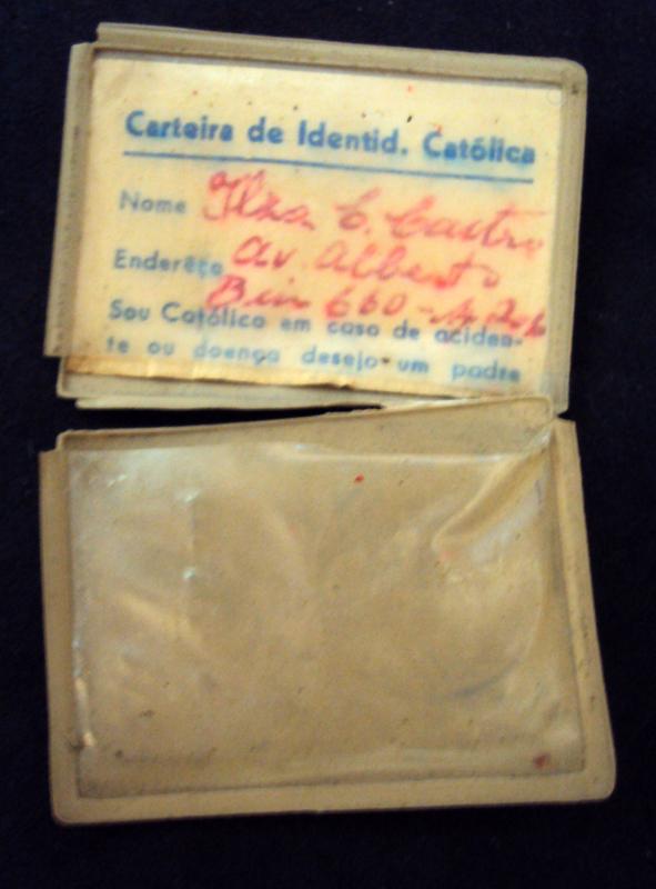 DI 08 – Carteira De Identidade De Católico