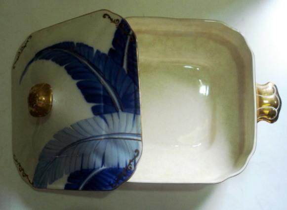 LO 25 – Sopeira Japonesa Det Azul Imperial Ironstone Ware Japão