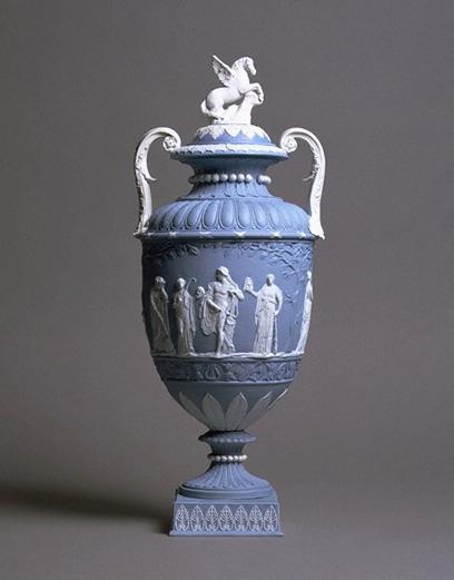 Wedgwood, porcelana; jaspe azul (dicionário)