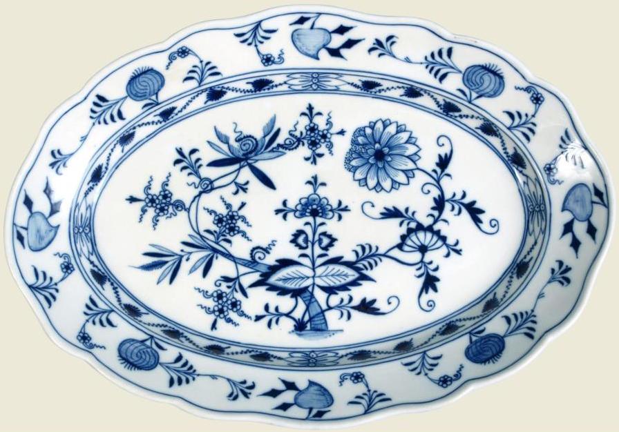 Porcelana Cebolinha ou Blue Onion (dicionário)